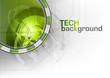 green tech symbol