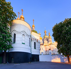 View of Kiev Pechersk Lavra Orthodox Monastery, Ukraine