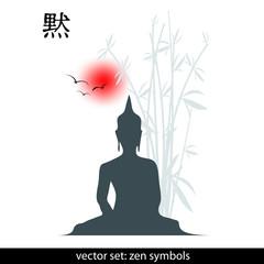 zen - hintergrund - vektor