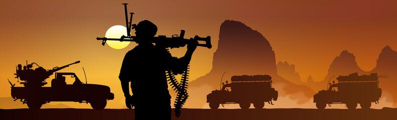 Soldats sahariens 1