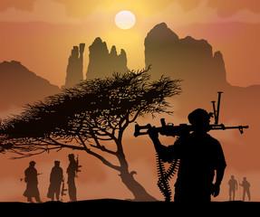 Soldats sahariens 4