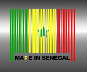 Made in Senegal.
