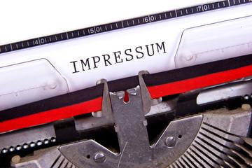 Impressum Type 1