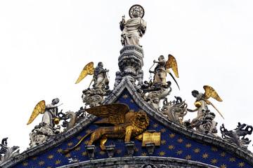 Basilica di San Marco,San Marco e angeli