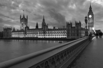 Londra, Westminster : le Houses of Parliament  2