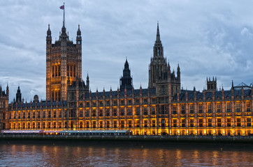 Londra, Westminster : le Houses of Parliament  e Victoria Tower
