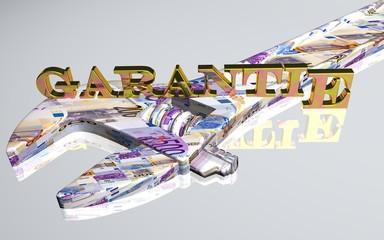 3D Werkzeug weiss - GARANTIE