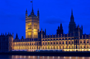 Londra, Westminster : le Houses of Parliament  3