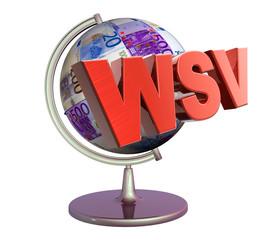 3D Geldglobus - WSV