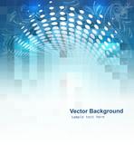 Shine mosaic background vector design