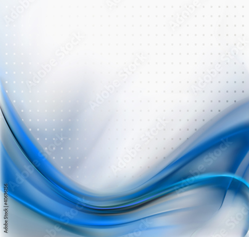 Abstract Blue Elegant Background Texture. Vector