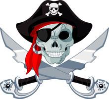 Czaszka pirata