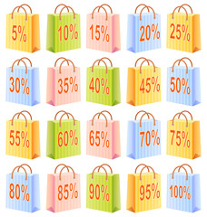 Shopping bags and discount
