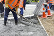 Road Working - Concrete