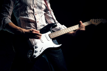 Image of guitar player