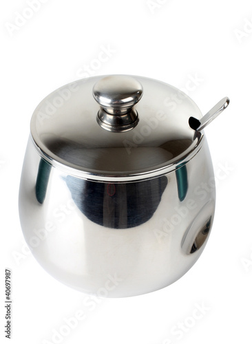 Metal sugarbowl