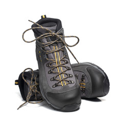 New and isolated mountain boots