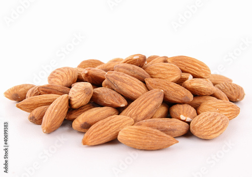 isolated almond