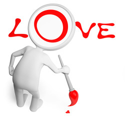 Man and love