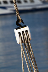 Fishing pulley
