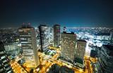 Fototapeta krajobraz - noc - Budynek