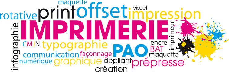 nuage de mots imprimerie