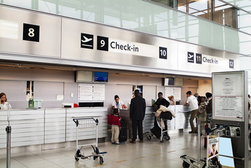 check in in aeroporto
