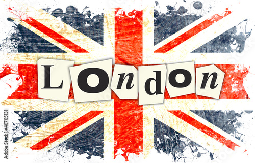 drapeau anglais london