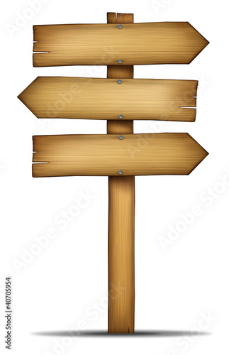 Wooden Directions Arrow Signs