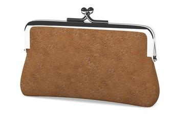 3d render of money purse