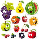 Fototapety fruit cartoon