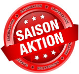 "Button Banner ""Saisonaktion"" rot"