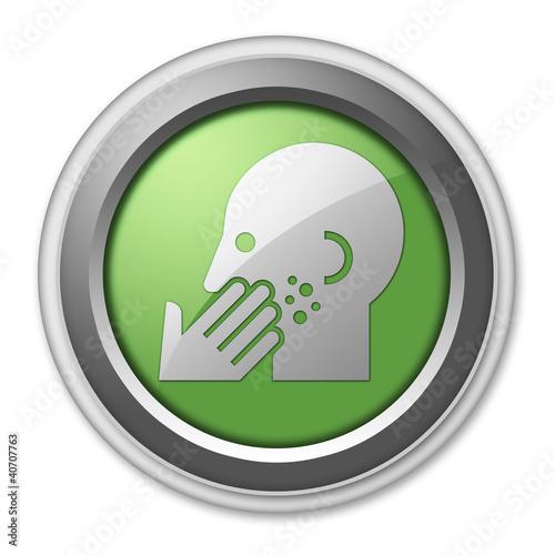 "Green 3D Style Button ""Dermatology"""