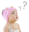 Wondering Asian baby