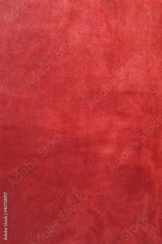 Fotobehang Stof closeup on a red velvet