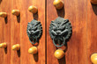 oriental door knocker