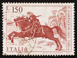 Postage stamp Italy 1976 St. George, Painting by Vittore Carpacc