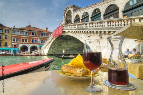 Lunch on Grand Canal