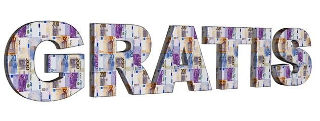 3D Geldschrift - GRATIS