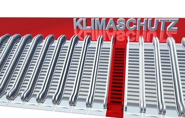 3D Rolltreppen - KLIMASCHUTZ