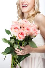 Frauen lieben Blumen