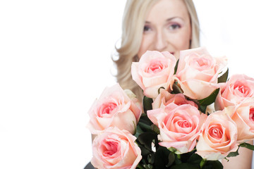Straus rosa Rosen