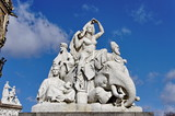 Prince Albert Memorial. Hyde Park. Kensington Gardens poster