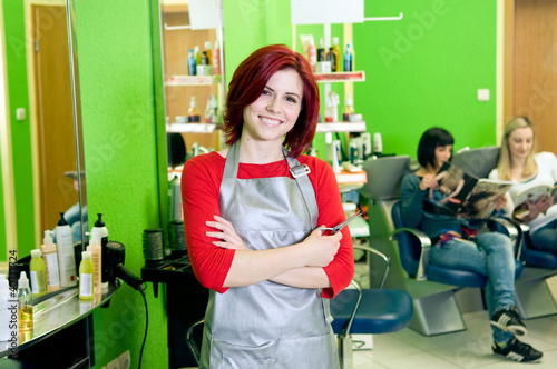 Hair salon owner or employee