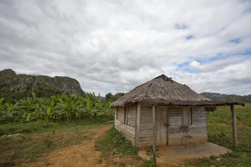 Farmhouse in Vinales Valley, Cuba