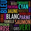 couleurs et mots