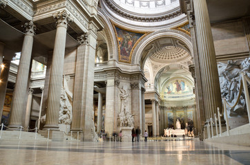 Paris Panthéon Interior