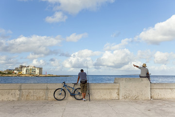 Fisherman in Havana