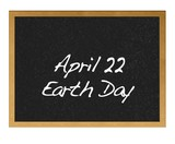 April 22, Earth day. poster