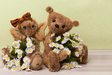 Adorable Teddy Couple